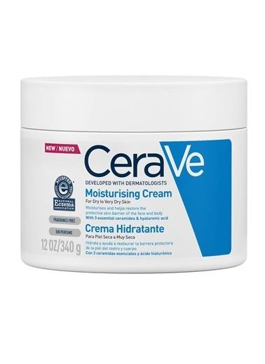 CeraVe CeraVe Moisturising Cream 340g Renksiz